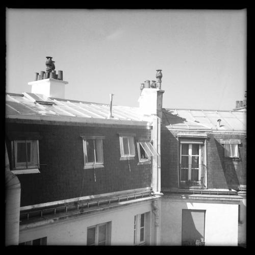 Dächer über Paris