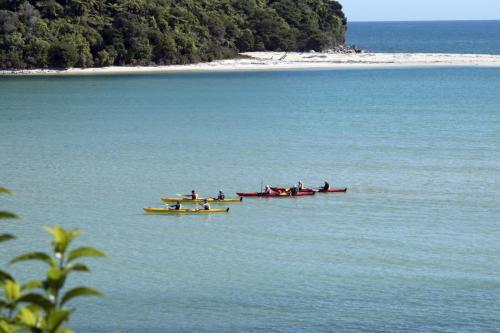 Neuseeland Kajakfarer