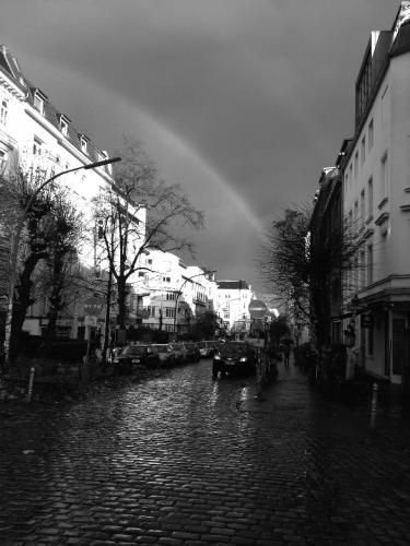 Regenbogen im Schanzenviertel
