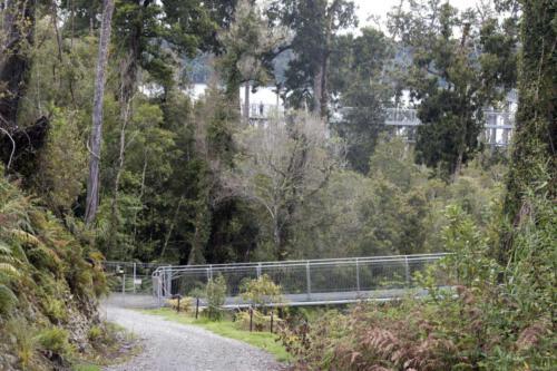 Neuseeland-Baumpark-Gelaender