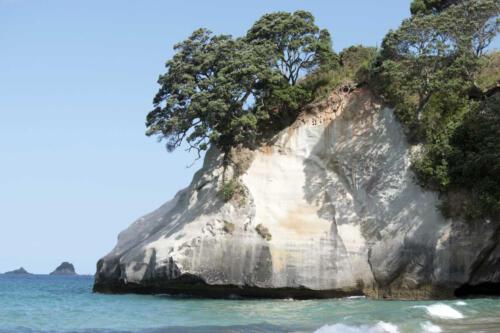 Neuseeland-Meer-Felsen