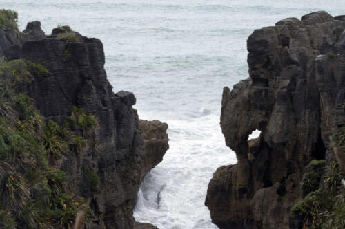 Neuseeland-Pankake-Felsen