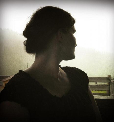 Frau im Sissi Seatle